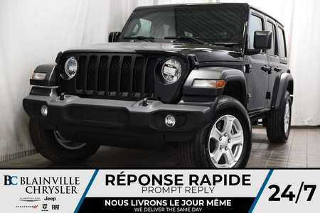 2019 Jeep Wrangler Unlimited Sport S for Sale  - BC-90246  - Blainville Chrysler