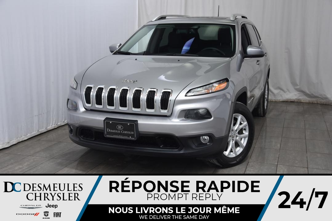 2017 Jeep Cherokee  - Desmeules Chrysler