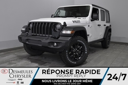 2020 Jeep Wrangler Willys + TURBO + BANCS CHAUFF *133$/SEM  - DC-20250  - Desmeules Chrysler