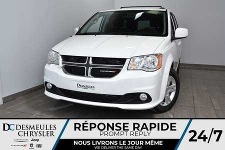 2018 Dodge Grand Caravan Crew * Climatisation Auto * 92$/Semaine for Sale  - DC-M1381  - Blainville Chrysler
