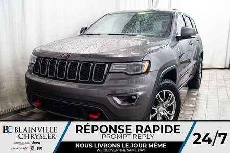 2017 Jeep Grand Cherokee TRAILHAWK * MAGS * 4X4 * BLUETOOTH * NAV for Sale  - BC-P1448  - Desmeules Chrysler