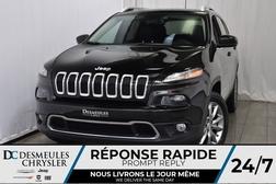 2017 Jeep Cherokee Limited * NAV * Cam. de Rec. * Cuir * Bouton Start  - DC-A0980  - Desmeules Chrysler