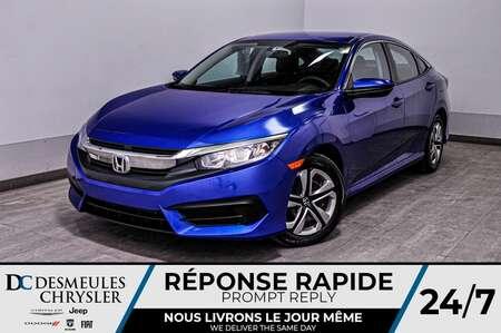 2016 Honda Civic Sedan LX + bancs chauff + bluetooth + a/c for Sale  - DC-D1791  - Blainville Chrysler