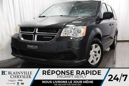 2011 Dodge Grand Caravan EXPRESS + V6 3.6L + CAM RECUL + STOW N'GO for Sale  - BC-P1137A  - Desmeules Chrysler