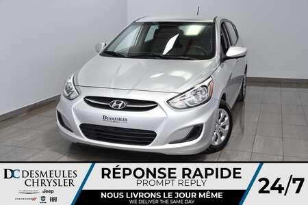 2017 Hyundai Accent SE *A/C * Sièges chauff. * Mode ECO * 50$/semaine for Sale  - DC-M1373  - Blainville Chrysler