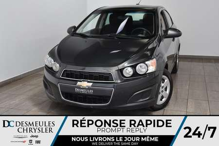 2015 Chevrolet Sonic LT * Siège chauff  * Cam de recul * 47$/semaine for Sale  - DC-M1397  - Desmeules Chrysler
