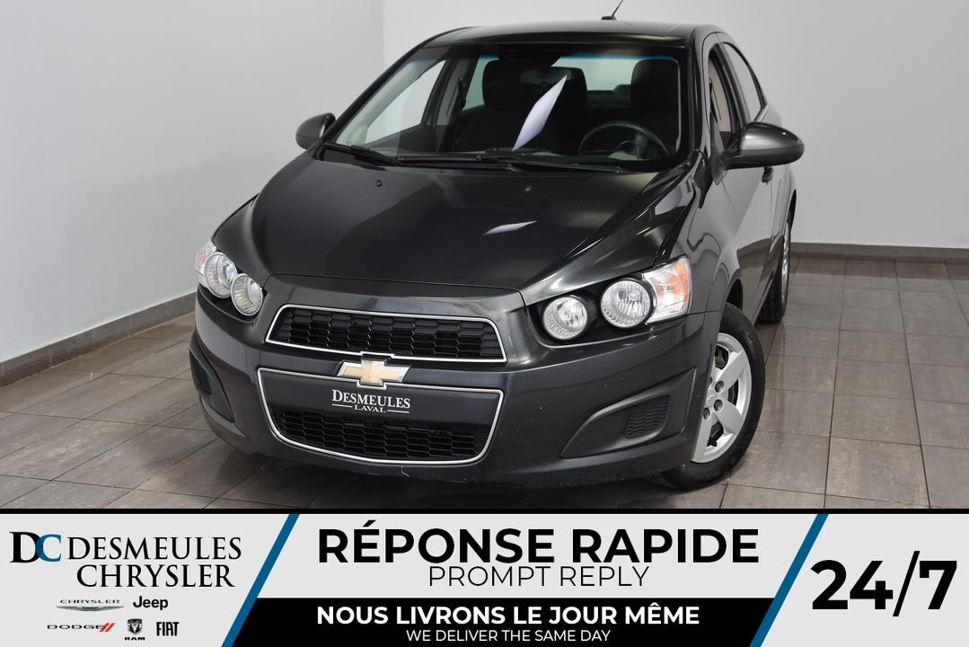 2015 Chevrolet Sonic  - Desmeules Chrysler