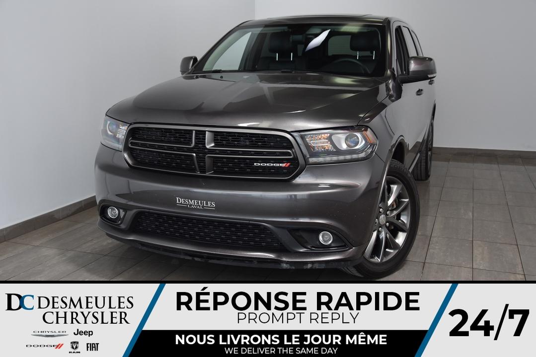 2017 Dodge Durango  - Desmeules Chrysler