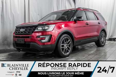 2016 Ford Explorer SPORT * MAGS * AWD * BLUETOOTH * NAV * CUIR for Sale  - BC-P1456  - Desmeules Chrysler
