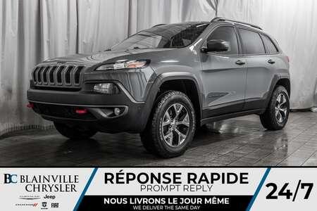 2014 Jeep Cherokee ** TRAILHAWK TOUT ÉQUIPÉ ** CRUISE ADAPTATIF ** for Sale  - BC-80330A  - Blainville Chrysler
