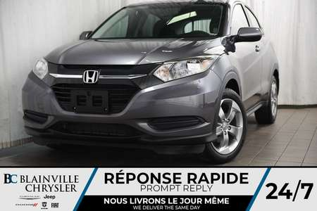 2017 Honda HR-V LX + BLUETOOTH + CRUISE + AUTOMATIQUE for Sale  - BC-P1286  - Blainville Chrysler