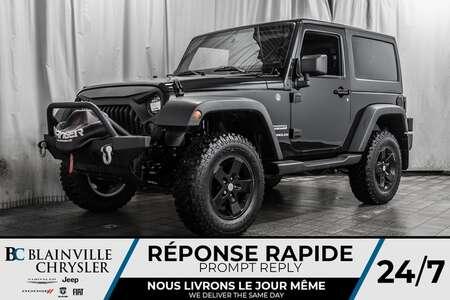 2017 Jeep Wrangler Sport * CAMERA DE RECULE * ** TREUIL ** for Sale  - BC-20097A  - Blainville Chrysler