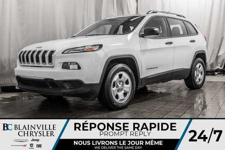 2015 Jeep Cherokee SPORT * ÉCONOMIQUE * CAMERA DE RECULE * for Sale  - BC-90011A  - Blainville Chrysler