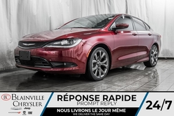 2016 Chrysler 200 S * MAGS * BLUETOOTH * NAV * TOIT PANO  - BC-P1451  - Desmeules Chrysler