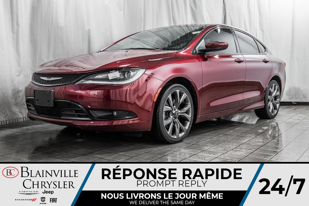 2016 Chrysler 200  - Desmeules Chrysler