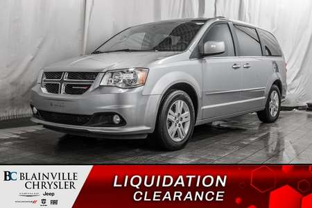 2017 Dodge Grand Caravan CREW PLUS * MAGS * CUIR * SIÈGES CHAUFFANT for Sale  - BC-90397A  - Desmeules Chrysler