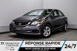 2014 Honda Civic Sedan LX + bancs chauff + a/c  - DC-D1789  - Desmeules Chrysler