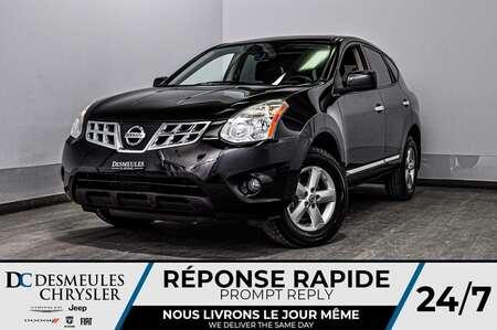 2013 Nissan Rogue S + toit ouv + a/c for Sale  - DC-D1648  - Desmeules Chrysler