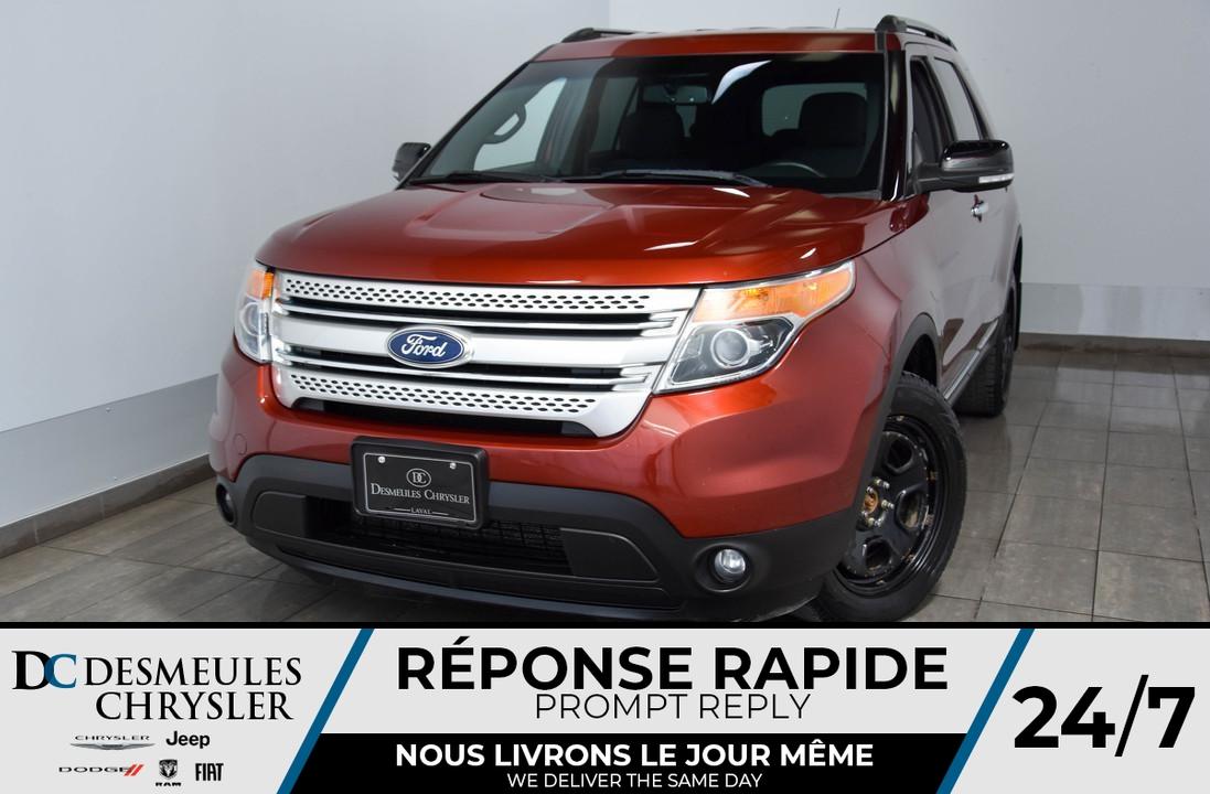 2014 Ford Explorer  - Desmeules Chrysler