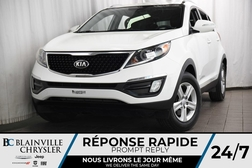 2015 Kia Sportage LX + BLUETOOTH + HITCH + A/C + JAMAIS ACCIDENTÉ  - BC-90201A  - Desmeules Chrysler