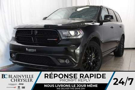 2016 Dodge Durango R/T+AWD+V8 5.7L+CLIM. BI-ZONE+NAV+CAM RECUL+ for Sale  - BC-P1151  - Blainville Chrysler