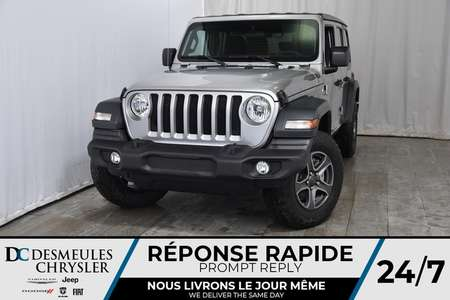 2018 Jeep Wrangler Unlimited Sport S for Sale  - DC-80581  - Desmeules Chrysler