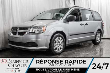2016 Dodge Grand Caravan SE * SUPPORT DE TOIT * * ENSEMBLE REMORQUAGE * for Sale  - BC-90357A  - Desmeules Chrysler