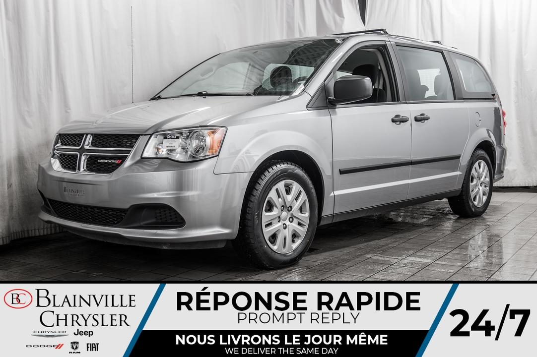 2016 Dodge Grand Caravan  - Desmeules Chrysler