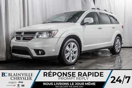 2015 Dodge Journey R/T * 7 PASSAGER * CUIR * NAV * MAGS * BLUETOOTH * for Sale  - BC-90431A  - Desmeules Chrysler