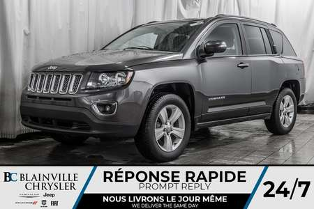 2016 Jeep Compass High Altitude * CUIR * NAV * BLUETOOTH * for Sale  - BC-P1387B  - Desmeules Chrysler
