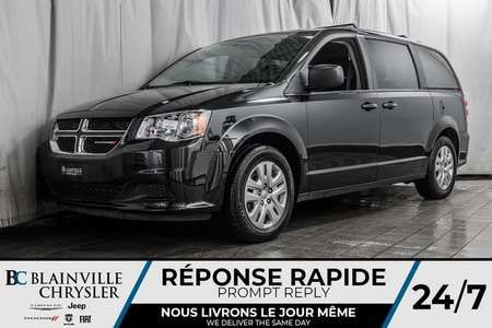 2018 Dodge Grand Caravan SXT * SUPPORT DE TOIT * * STOW'N'GO * for Sale  - BC-P1472  - Desmeules Chrysler