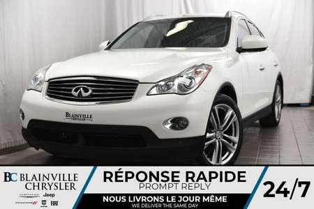 2013 Infiniti EX37 76$/SEM+AWD+MAGS 19''+AUDIO BOSE+CAMERA 360 DEGRÉS for Sale  - BC-P1178  - Blainville Chrysler