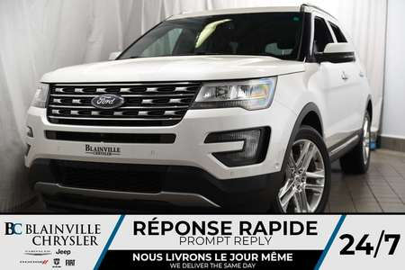 2016 Ford Explorer Limited+AWD+MAGS+AUDIO SONY+TOIT+CUIR+CAM RECUL for Sale  - BC-P1180  - Blainville Chrysler