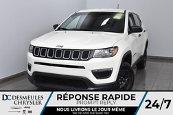 2018 Jeep Compass Sport * Cam Rec * Sièges Chauff *  - DC-A1062A  - Desmeules Chrysler