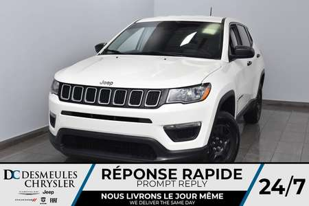 2018 Jeep Compass Sport * Cam Rec * Sièges Chauff * for Sale  - DC-A1062A  - Desmeules Chrysler