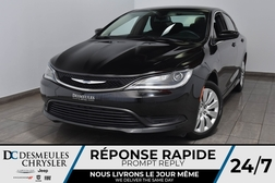 2016 Chrysler 200 LX *A/C *Bout Start *55$/semaine  - DC-A1510  - Desmeules Chrysler