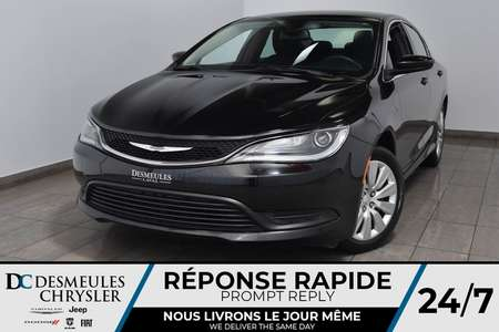 2016 Chrysler 200 LX *A/C *Bout Start *55$/semaine for Sale  - DC-A1510  - Blainville Chrysler