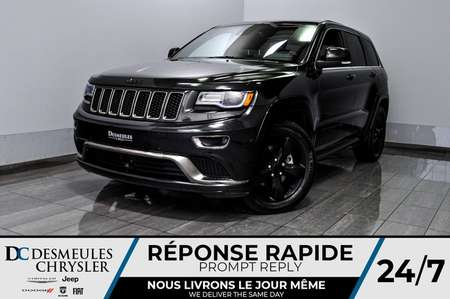 2015 Jeep Grand Cherokee Overland + bancs chauff + toit ouv + uconnect for Sale  - DC-D1882  - Blainville Chrysler