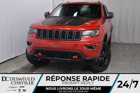 2018 Jeep Grand Cherokee Trailhawk for Sale  - DC-80319  - Desmeules Chrysler