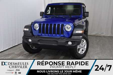 2018 Jeep Wrangler Unlimited Sport S + BANCS CHAUFF *155$/SEM for Sale  - DC-81253  - Desmeules Chrysler