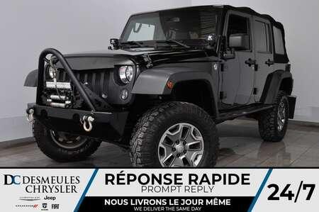 2015 Jeep Wrangler RUBICON BEAUCOUP $$D'EXTRA$$ * NAV * 175$/Sem for Sale  - DC-A1604  - Desmeules Chrysler