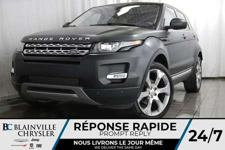 2015 Land Rover Range Rover Evoque PRESTIGE + AWD + MAGS + BLUETOOTH + CAM RECUL for Sale  - BC-P1335  - Desmeules Chrysler
