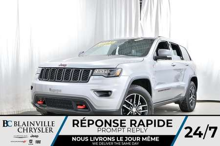 2018 Jeep Grand Cherokee Trailhawk for Sale  - BC-80025  - Blainville Chrysler