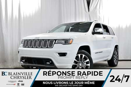 2018 Jeep Grand Cherokee Overland for Sale  - 80205  - Desmeules Chrysler