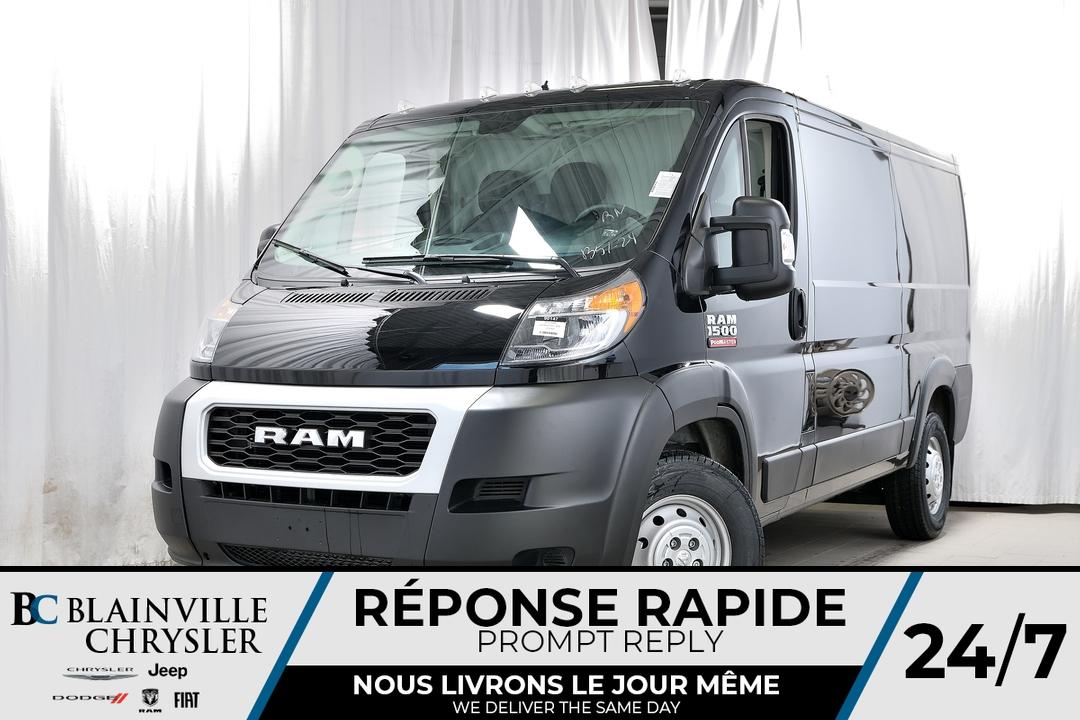 2019 Ram ProMaster Cargo Van  - Desmeules Chrysler
