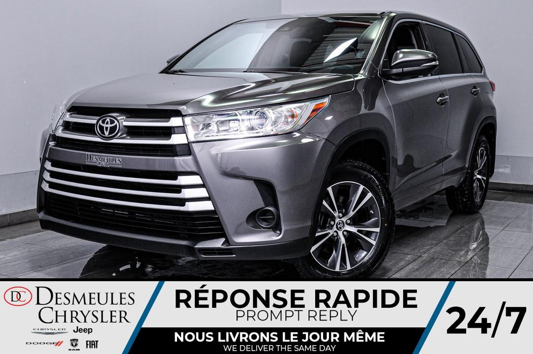 2018 Toyota Highlander  - Desmeules Chrysler