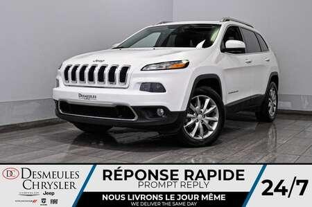 2017 Jeep Cherokee Limited + toit ouv + bancs et volant chauff + a/c for Sale  - DC-20430A  - Blainville Chrysler