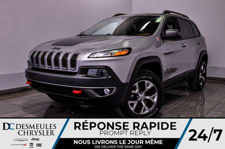 2015 Jeep Cherokee Trailhawk *GPS *A/C *Bancs chauff *103$/semaine for Sale  - DC-90996A  - Blainville Chrysler