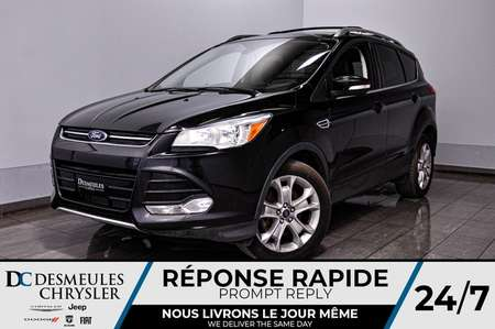 2016 Ford Escape Titanium * Toit Ouvr Pan * NAV * Cam Rec * 78$/Sem for Sale  - DC-A1007  - Blainville Chrysler