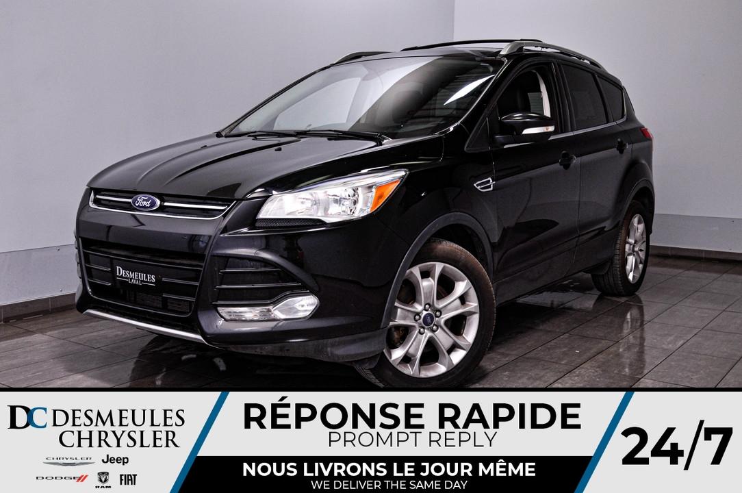 2016 Ford Escape  - Desmeules Chrysler